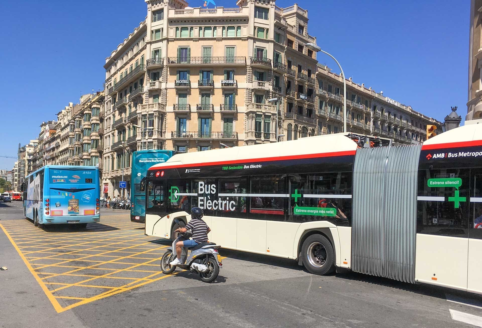 E-Bus in Barcelona