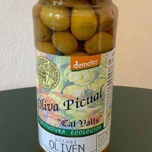 Bio Picual Oliven, Demeter zertifiziert, 200g