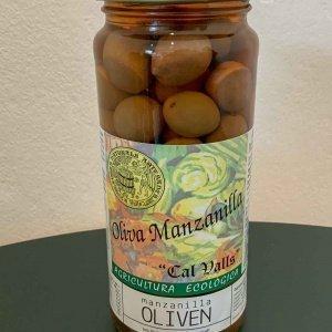 Manzanilla Bio Oliven, 200g