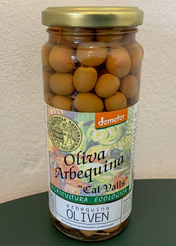 Arbequina Oliven bio 200g