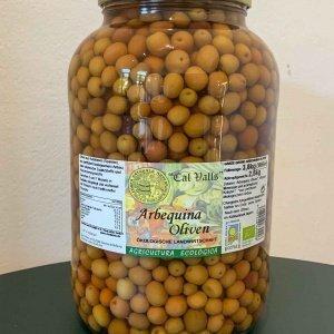 Bio Arbequina Oliven, 2500g