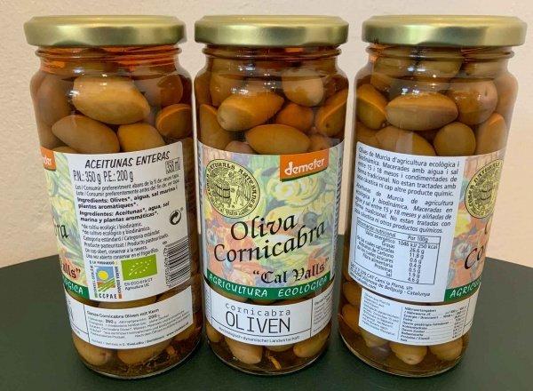 Bio Cornicabra Oliven, Demeter zertifiziert