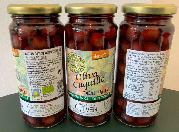 bio cuquillo oliven demeter 200g
