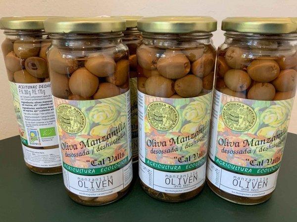 Manzanilla Bio Oliven, ohne Kern, 170g