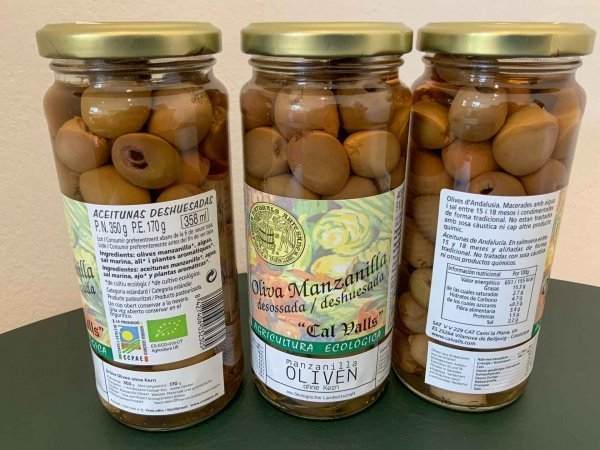 Manzanilla Bio Oliven ohne Kern, 170g