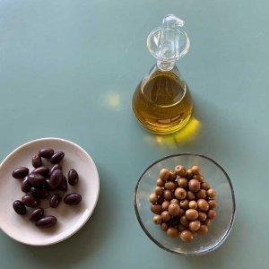 Oliven und Olivenöle